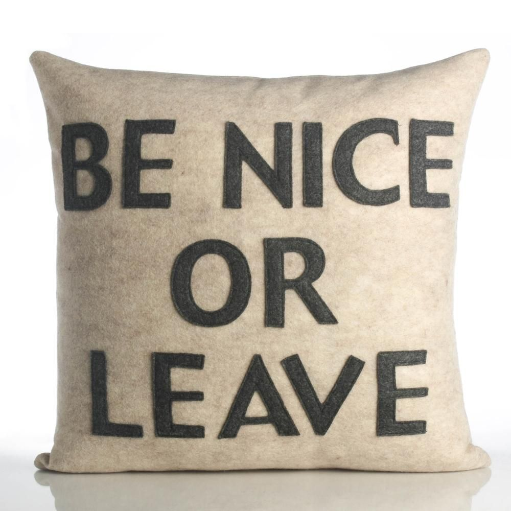 Recycled Polyester Fill Insert Included The Felt That I Use Is Made From 100 Percent Post Consumer Recycled Water Alexandra Ferguson Applique Pillows Pillows