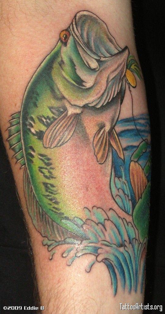 Bass Tattoos Best 3d Tattoo Ideas Tattoos Bass Fishing Tattoo Tattoo Designs
