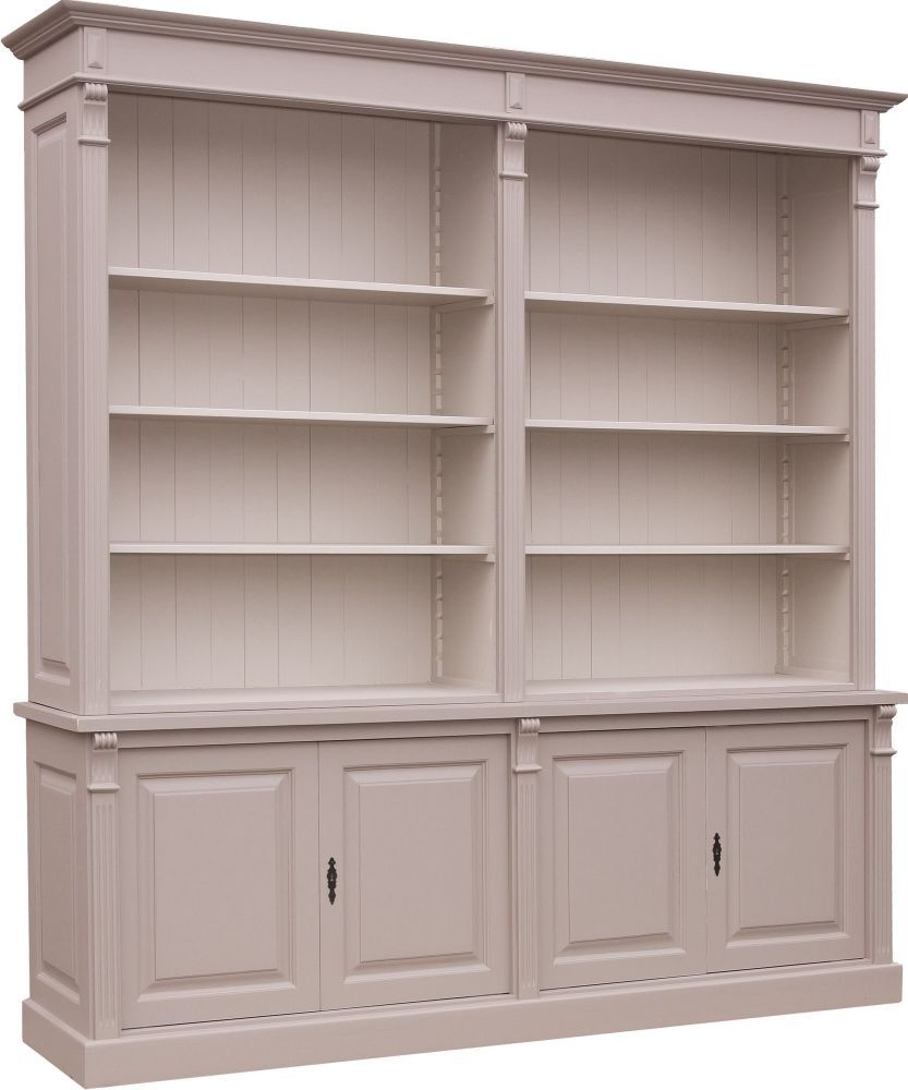Biblioth que pin massif style directoire dco projet 1 biblioth que pinter - Bibliotheque pin massif ...