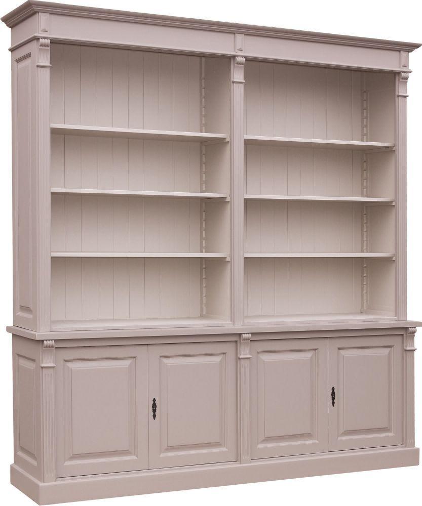 Biblioth Que Pin Massif Style Directoire Muebles Pinterest  # Bibliotheque Bois Massif Sur Mesure