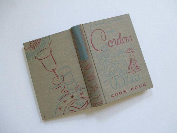 Vintage 1947 The Cordon Bleu Cookbook  Dione Lucas by vintagenelly, $14.00