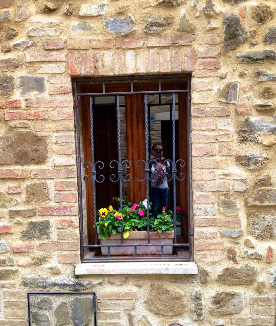 Janela em Montalcino