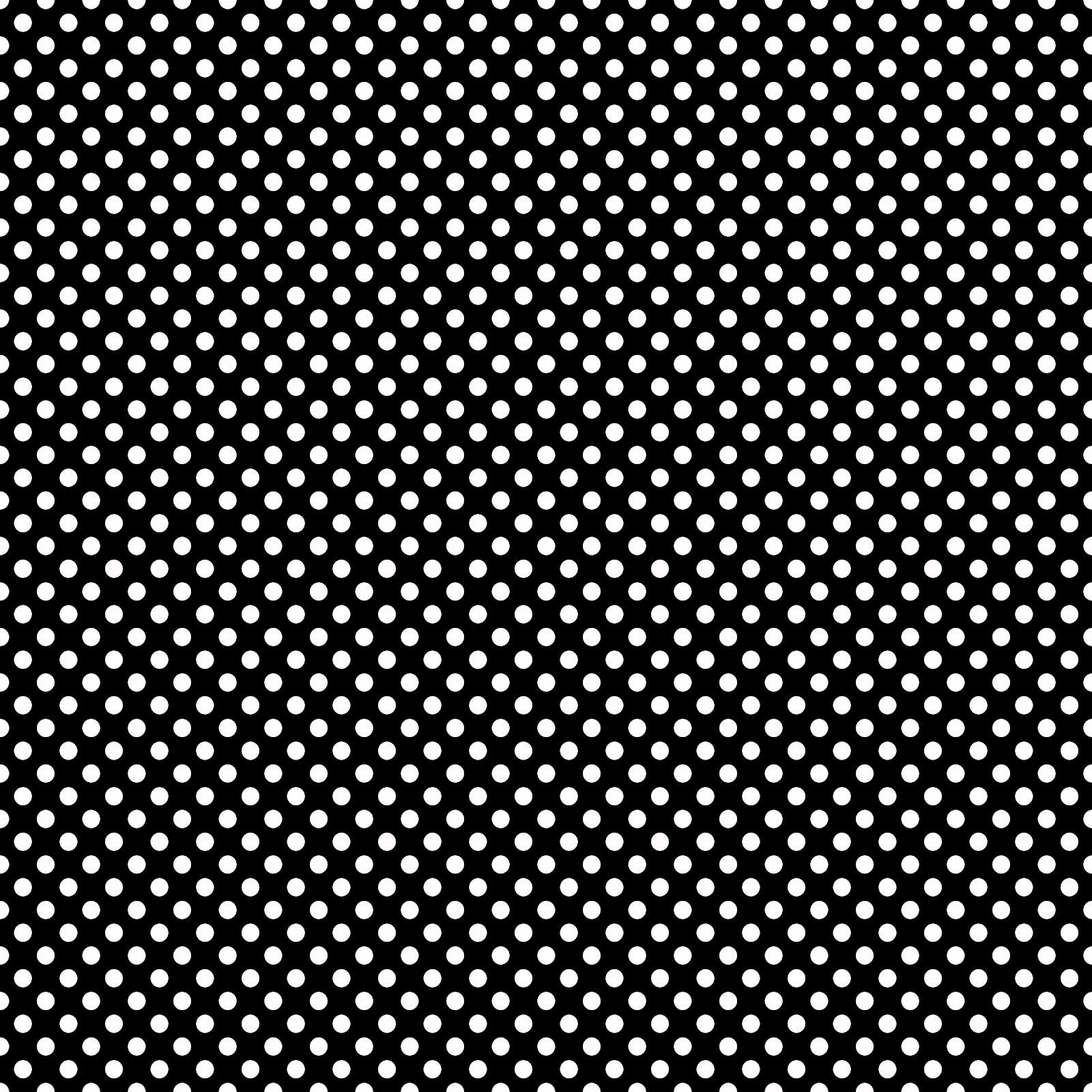 Stampin D'Amour: Scrapbook Papers - Black and White Polka Dots