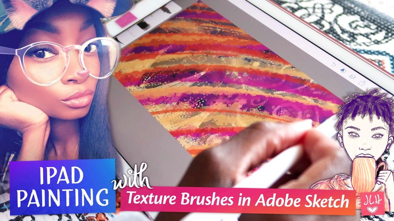 iPad Painting in Adobe Sketch app. https//youtu