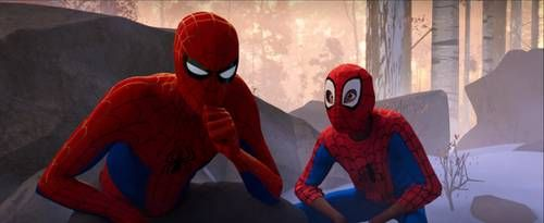 Peter and Miles Crouching - Spiderverse | Meme Template ...