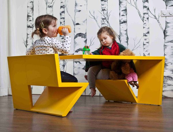 Kids Coffee Table With Designer Edge From Thomas Laurens