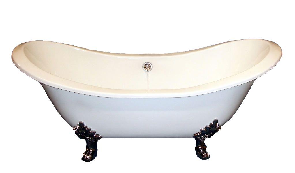 Clawfoot freestanding bathtub by Jetta Corporation. ADES Clara model ...