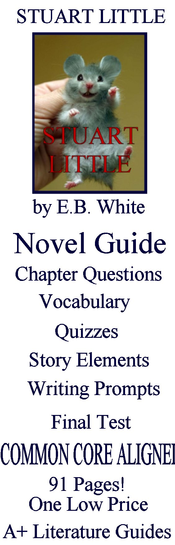 This is a 105 page novel guide for Stuart Little by E. B. White. This guide  has everything that you will need to teach and assess the novel including  ...