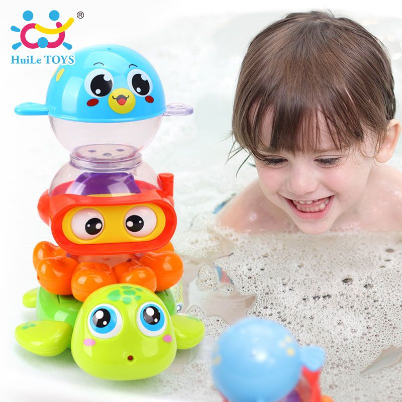 65% Off ] 2017 New Baby Bath Toy Children Pool Swimming Toys Animals ...