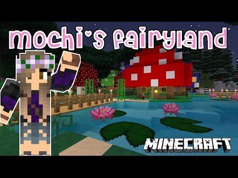 Mushroom Fairy House MINECRAFT Mochis Fairyland Minecraft - Minecraft schone holzhauser