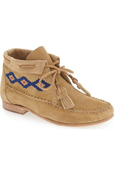 Soludos Embroidered Moccasin Bootie Women Available At Nordstrom