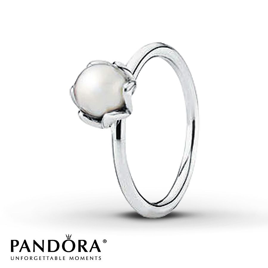 def4ad4b6 Pandora Ring Elegance Cultured Pearl Sterling Silver | Rings ...