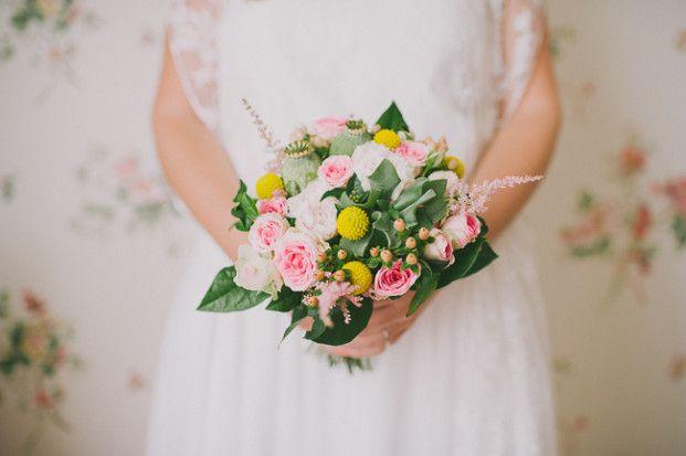 Un mariage romantique et champêtre à Nimes