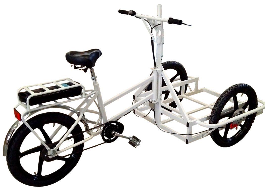 Kronos Basic Electric Cargo Bike Triciclo Foodbike Bicicletas