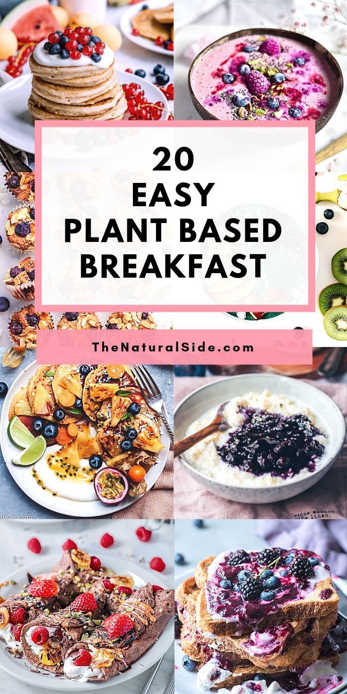 Looking Easy Plant Based Recipes For Breakfast Check Out These 20 Easy Plant Based Plant Based Recipes Easy Vegan Breakfast Easy Plant Based Recipes Breakfast