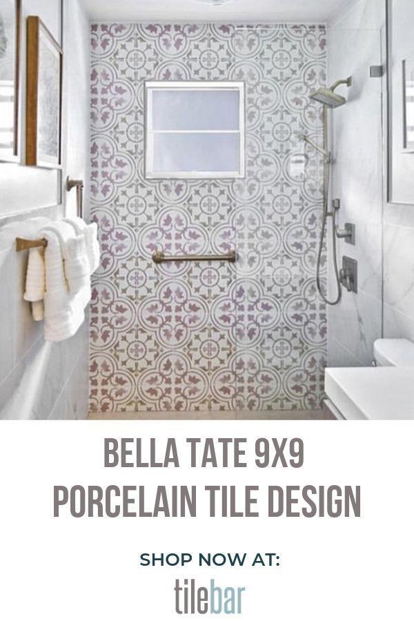 9x9 Room Design: Bella Tate 9x9 Porcelain Tile