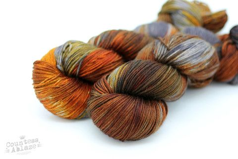 Industrial - The Exotic Traveller 4ply - Camel & Silk