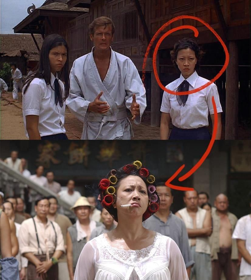 The Moment You Realize That The Landlady From Kung Fu Hustle Is A Retired Bond Girl Kung Fu Hustle Funny Meme Pictures The Moment You Realize