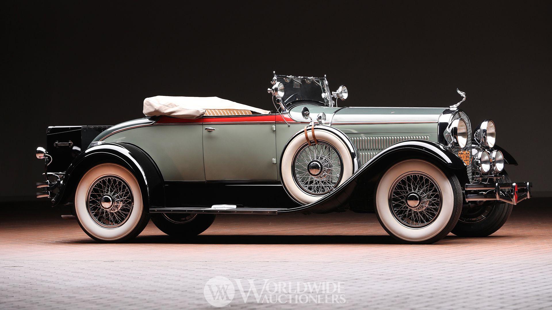 1929 Hudson Series R Convertible Coupe | Hostetler\'s Hudson Auto ...