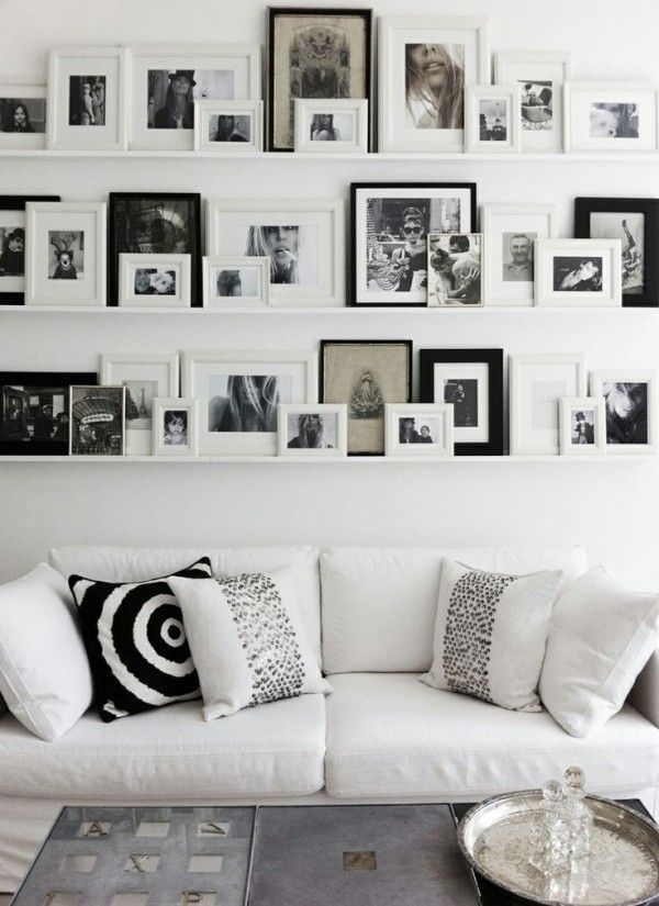 6 methoden f r bilder aufh ngen ohne bohren wandgestaltung pinterest aufh ngen w nde und. Black Bedroom Furniture Sets. Home Design Ideas