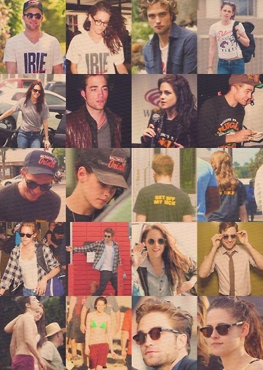 Caring Is Sharing Kristen And Robert Robert Pattinson And Kristen Kristen Stewart