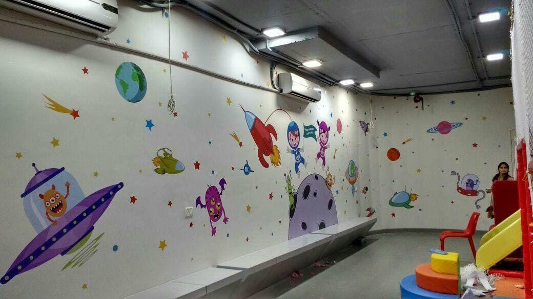 Mockingbird Studios Mumbai Customized Wall Graphics Decals Wallpapers Canvas Schools 6 Wall Graphics School Wallpaper
