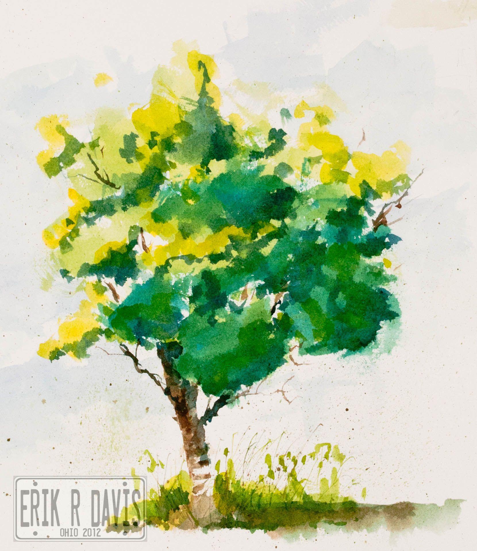 WATERCOLOR BUSHES - Google Search | Watercolor trees | Pinterest ...