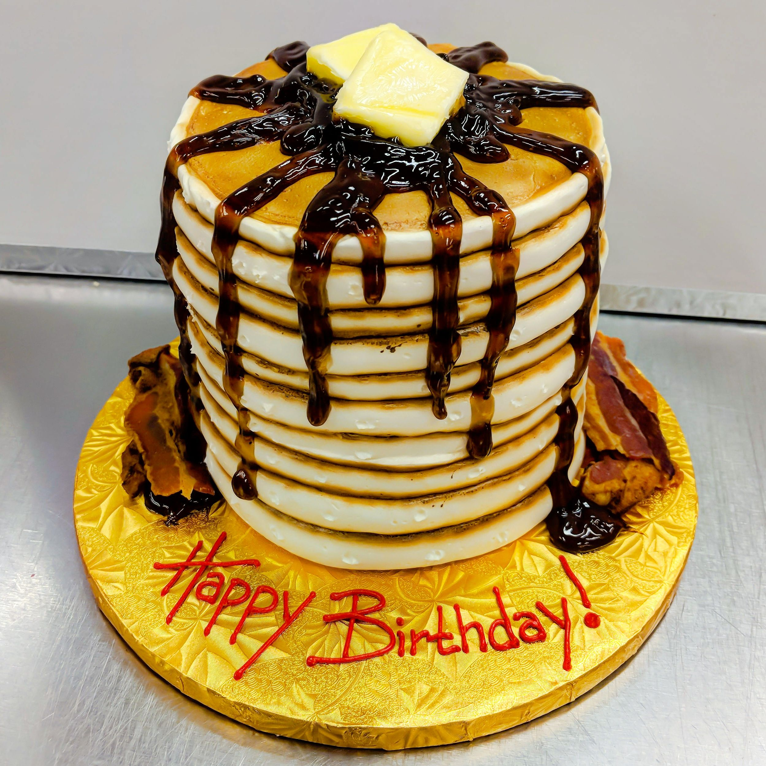Fun Birthday Cake Idea For A Breakfast Lover Almost Looks Like The