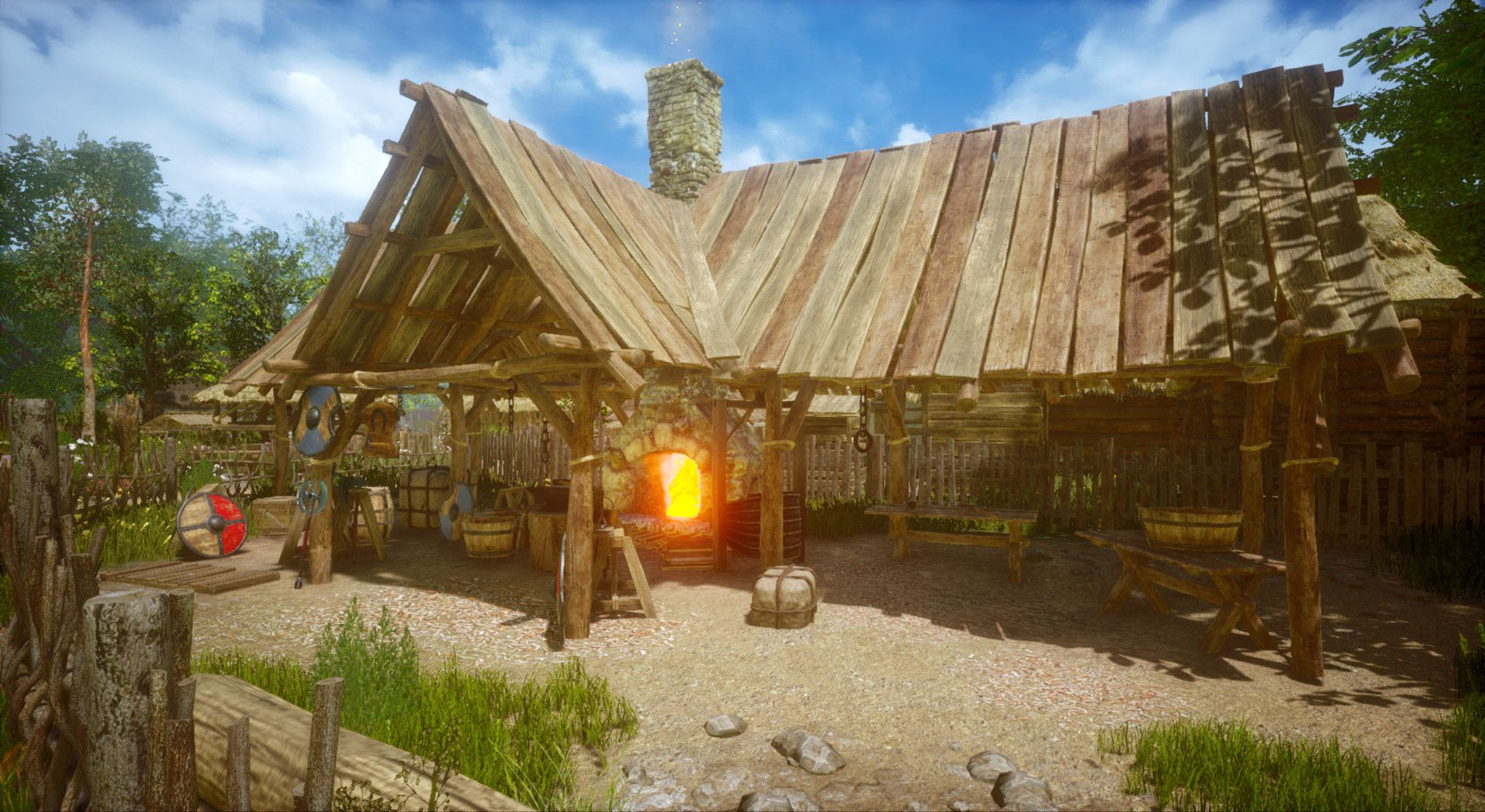 ArtStation - Medieval village map (Unreal Engine 4), Robert Luszczki