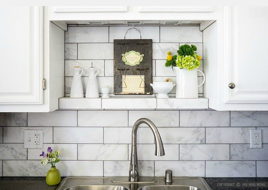 Kitchen Tiles 5 Splashback Ideas Plus Expert Tips Marble Tile