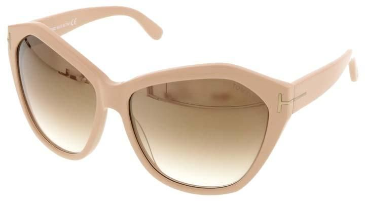 7e2b96846d30a Tom Ford Nude Oversized Sunglasses. Free shipping and guaranteed  authenticity on Tom Ford Nude Oversized Sunglasses at Tradesy. Features   Discreet Tom Ford ...