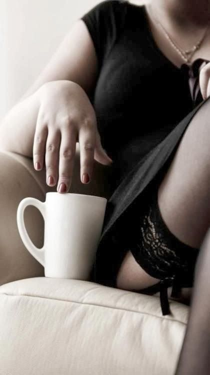 Coffee sexy time