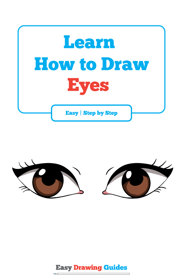How To Draw Eyes Really Easy Drawing Tutorial Eye Drawing