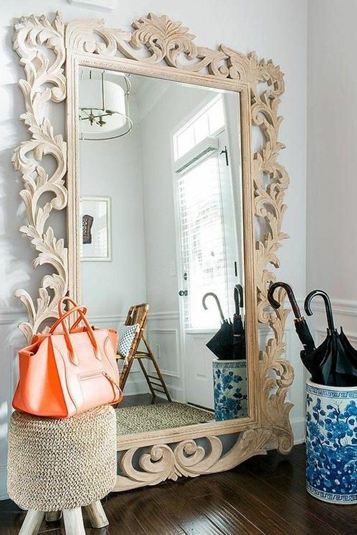 le miroir mural grande taille accessoire pratique et dcoration originale archzinefr - Grand Miroir Mural Design