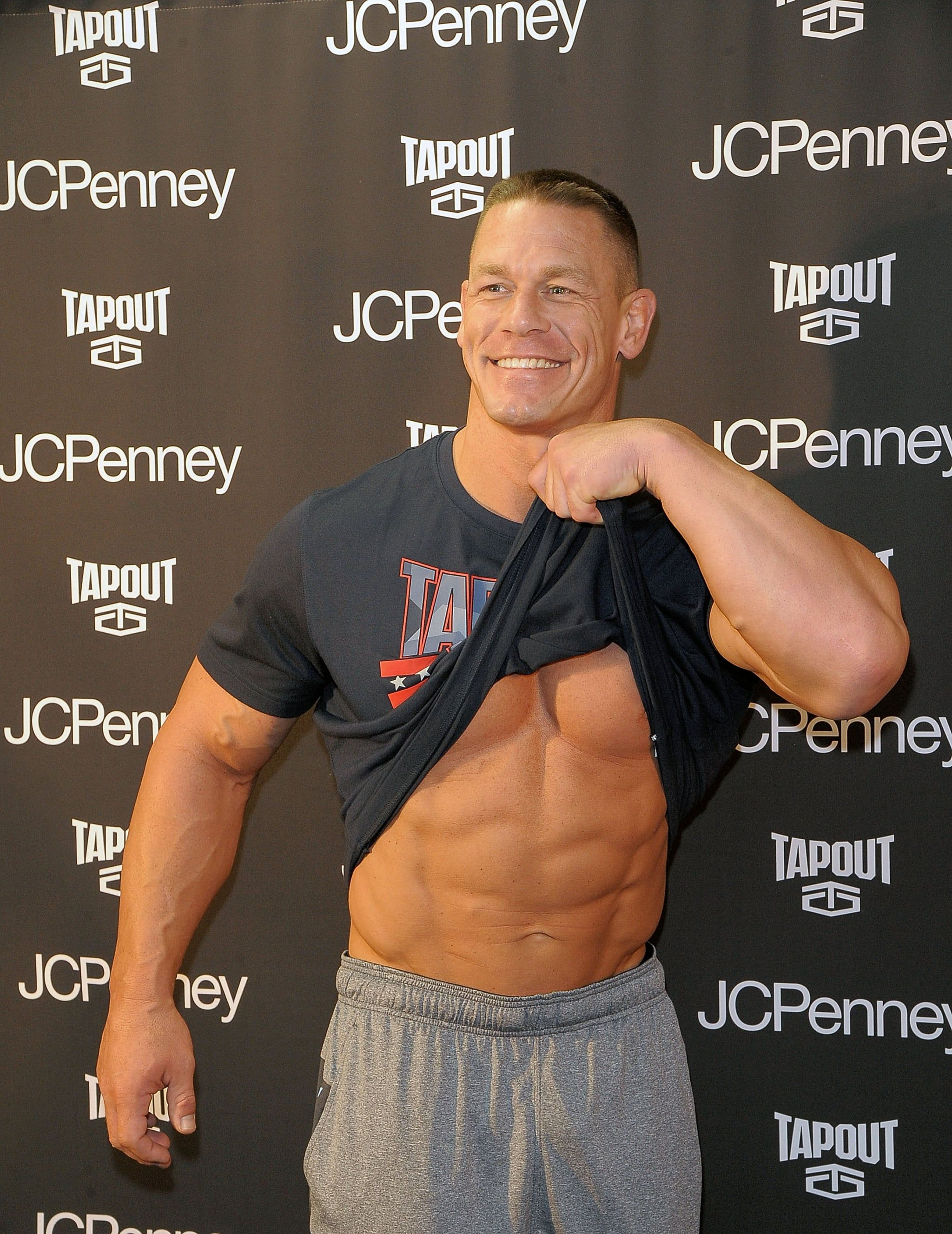Bet You Can T Get Through These John Cena Pictures Without Drooling Just A Little John Cena Pictures John Cena Hot Wwe Superstar John Cena