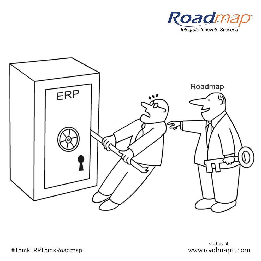 Roadmap It Solutions P ltd is a perfect key for #ERP #