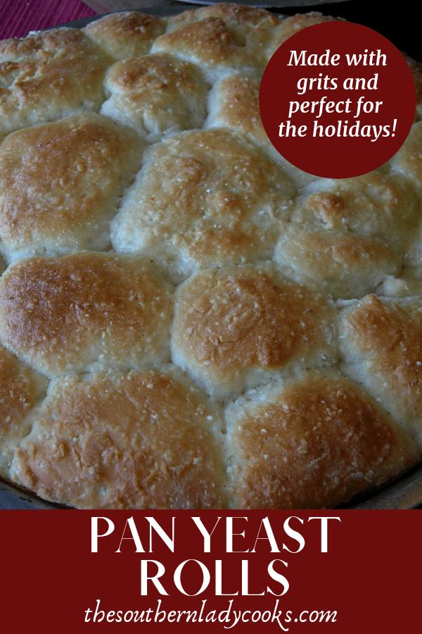 PAN YEAST ROLLS | Old fashioned yeast rolls recipe, Yeast rolls, Yeast rolls recipe
