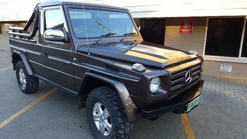 Converted SUV to Single Cab - Converted engine Mercedes-Benz
