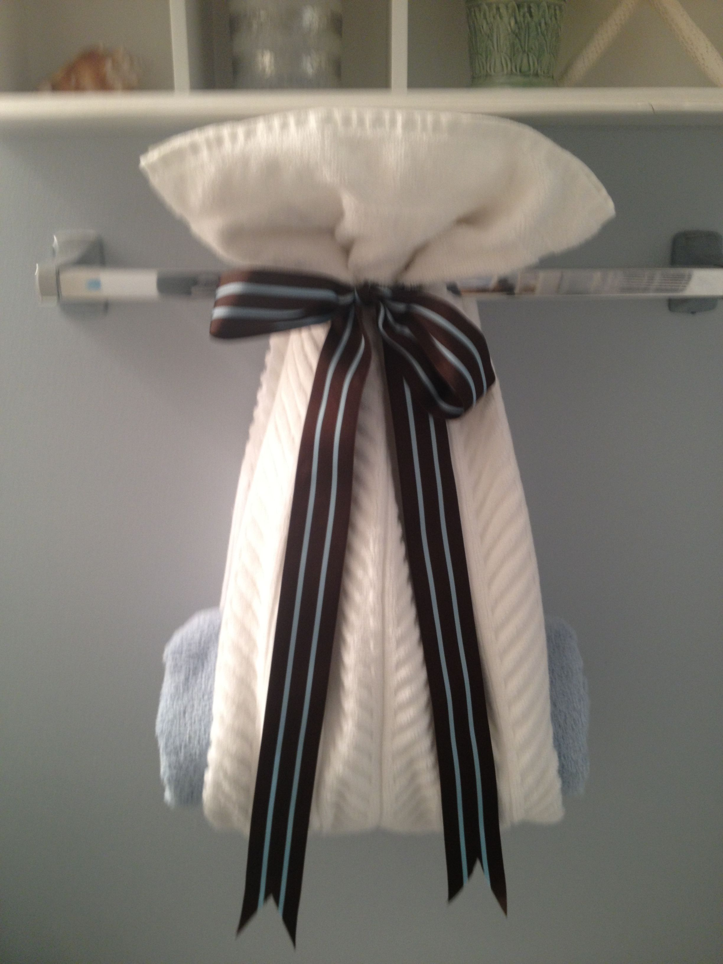 Cute Idea Go An Unused Towel Bar Towel Bar Decor Towel