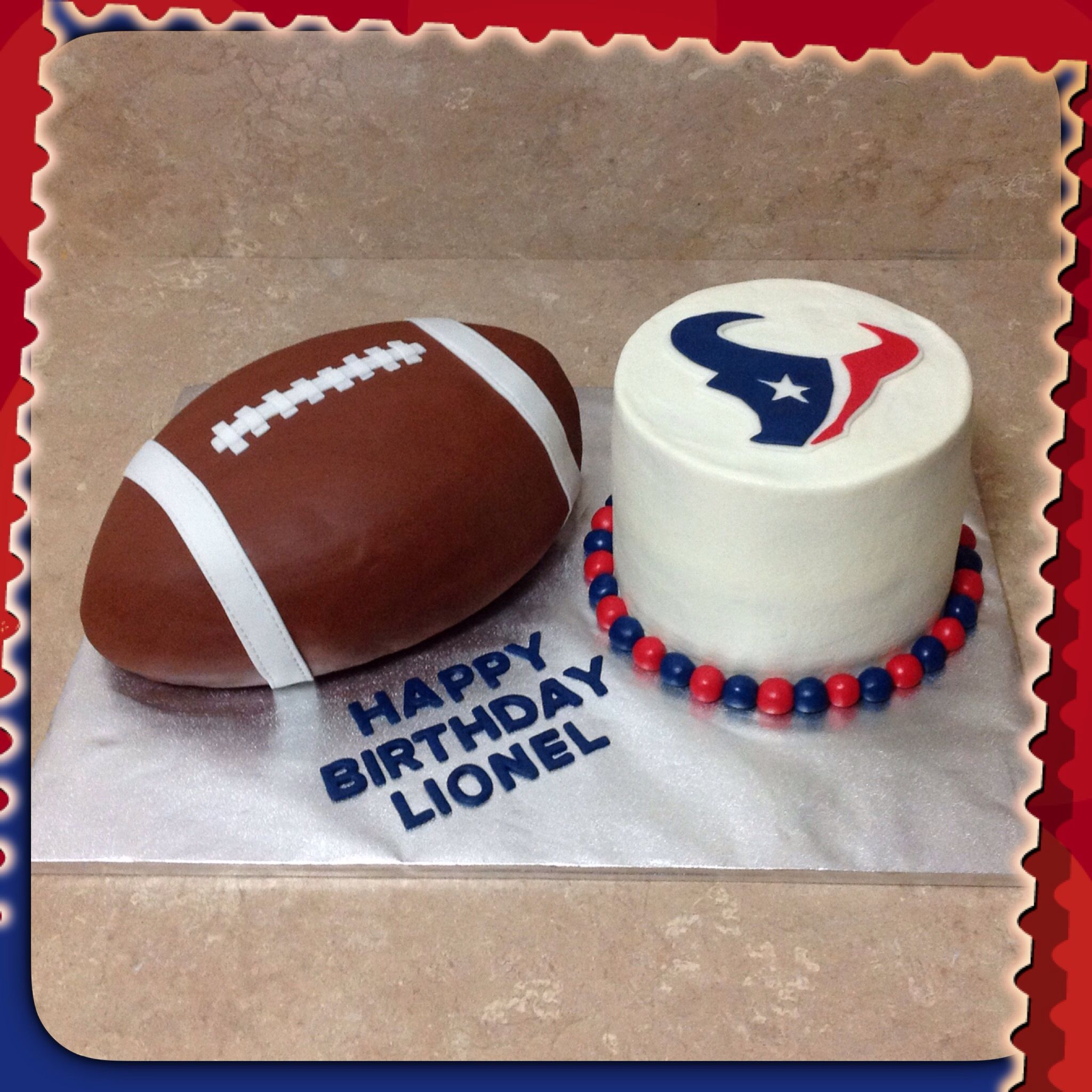 Houston Texans Cake Football Cake My Cakes Bbs Creative
