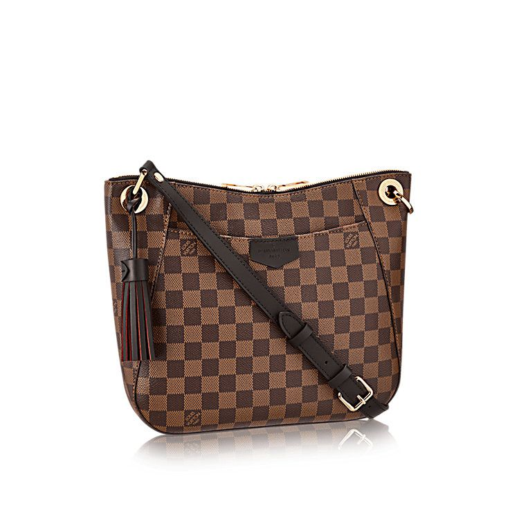 466d76cbd417 Women s Crossbody Bags and Crossbody Purses. South Bank Besace Damier Ebene  Canvas in WOMEN s HANDBAGS collections by Louis Vuitton