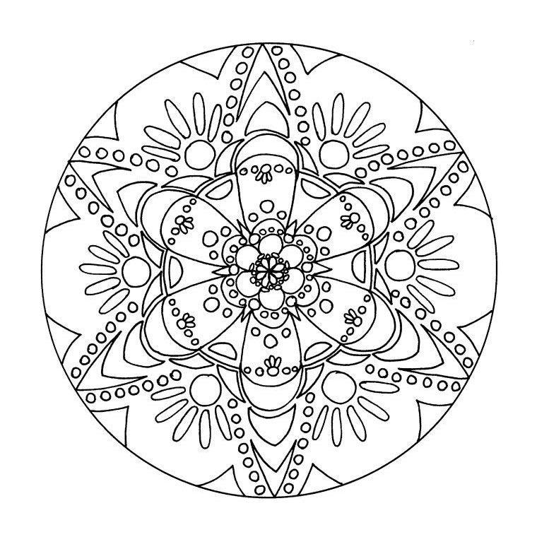 Coloriage mandala noel les beaux dessins de meilleurs - Mandala paysage ...