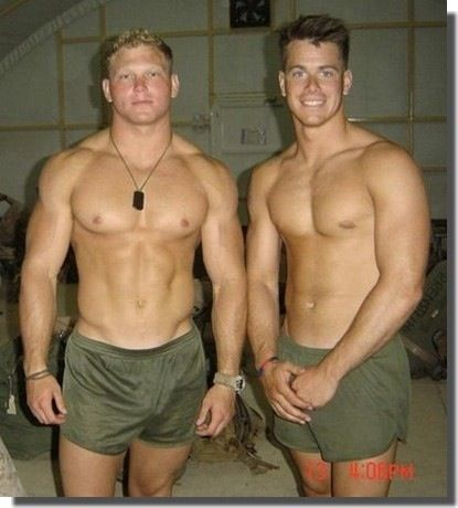 Hot verbal military gay a insatiable 7