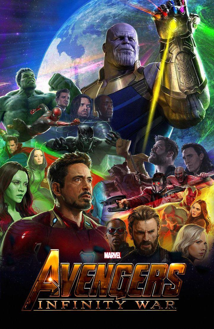 The Avengers Infinity War 2018 Poster By Edaba7 Deviantart Com On
