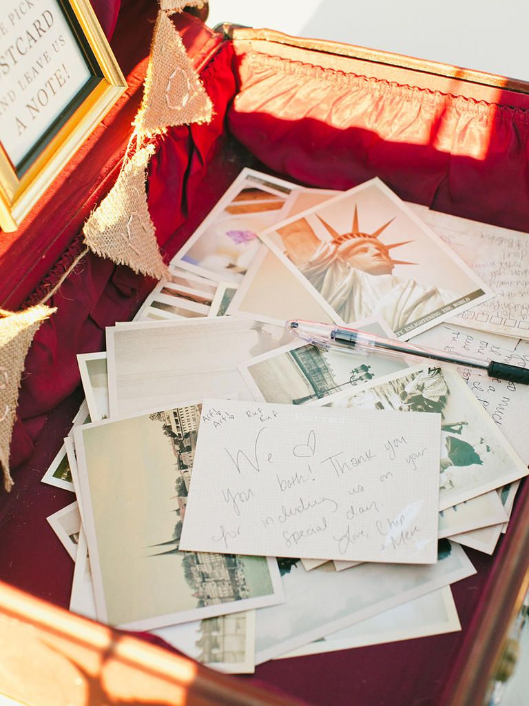 15 Creative Ideas for a Travel-Themed Wedding | Travel themed ...