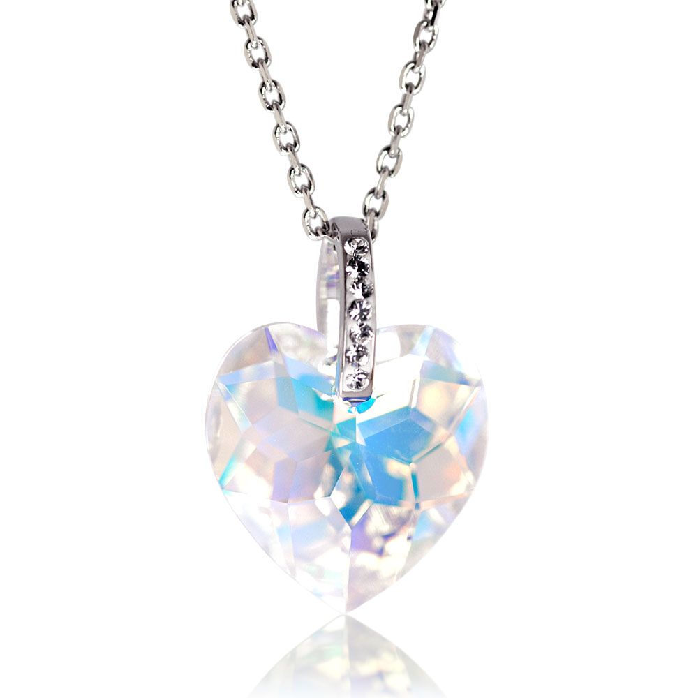 d5aa079a33a05 Gabriella Heart Necklace made with SWAROVSKI ELEMENTS Get up to 70 ...