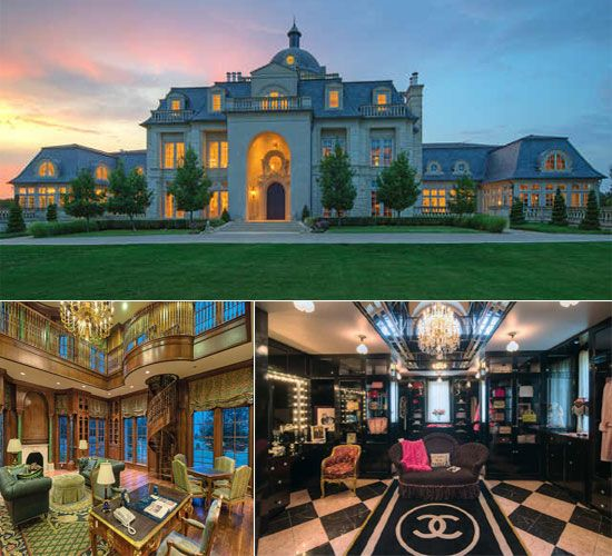 The champ d or mansion which has a million dollar chanel for 500 000 dollar homes in texas