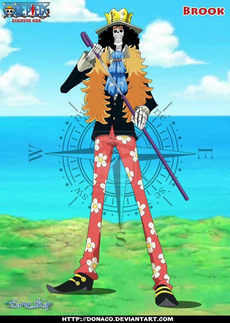 Brook Timeskip by donaco on deviantART One Piece Ace 52dcb2b778f