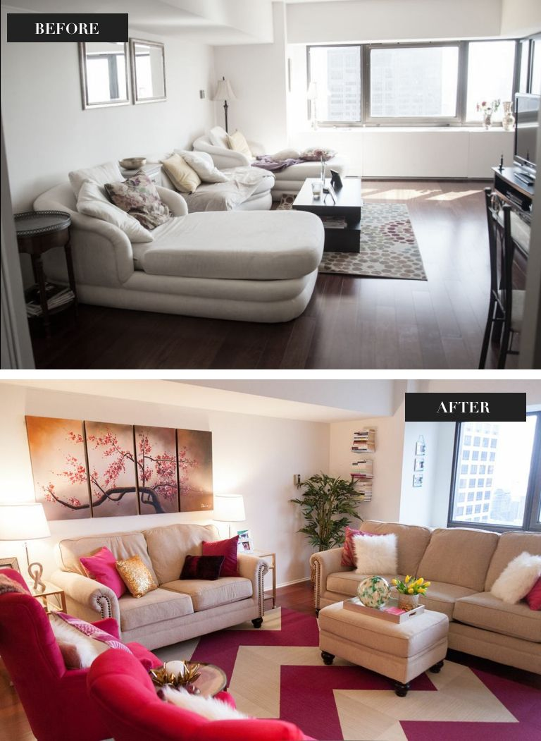 Target Living Room Furniture: See The Amazing Before And After Photos From This