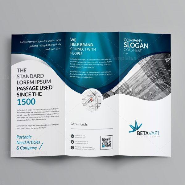 sample tri fold brochure